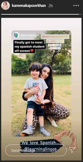 Kareena Kapoor Khan Instagram stories