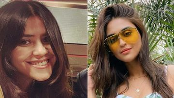 Ekta Kapoor Is Blown Away By Krystle D'Souza's Beauty, Calls Her 'Khoobsurat Bachchi'