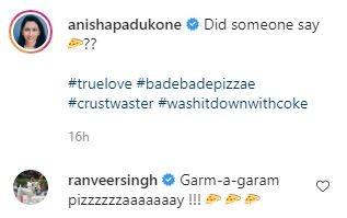 Ranveer Singhs comment