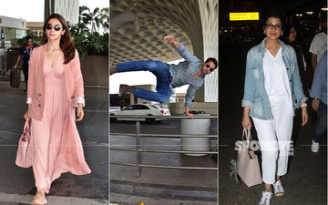 Celeb Spottings: Alia Bhatt-Varun Dhawan, Sonali Bendre Make A Splash At The Airport