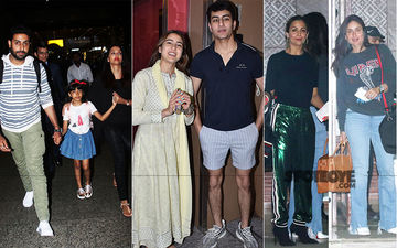 Celeb Spottings: The Bachchans Are Back To The Bay Whereas Kareena Kapoor-Amrita Arora Are Off To London