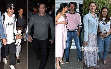 Celeb Spottings: Shah Rukh Khan, Salman Khan, Deepika Padukone, Ranbir Kapoor And More Celebs Strut In Style