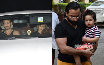 Celeb Spottings: Tiger Shroff-Disha Patani Attend Dance Class Together, Taimur Ali Khan Gets Summer Ready With A Cute Haircut