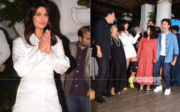 Priyanka Chopra Is Totally In High Spirits At Wrap-Up Bash Of The Sky Is Pink