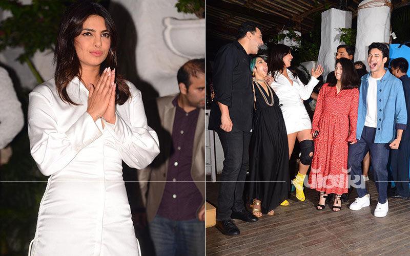 स्काय इज़ पिंक की रैपअप पार्टी में प्रियंका चोपड़ा ने की जमकर मस्ती: देखिए तस्वीरें