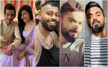 Yuzvendra Chahal Introduces His Ladylove Dhanashree Verma, Shares Pictures From Roka Ceremony; Virat Kohli, KL Rahul, Hardik Pandya Pour In Congratulations