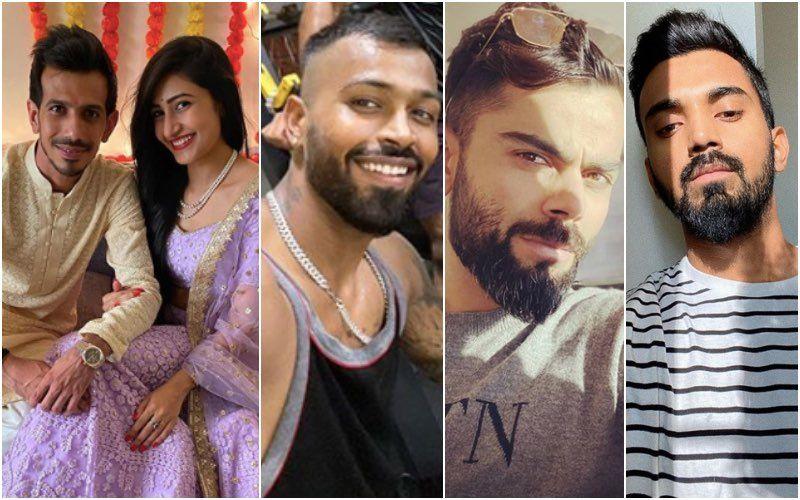 Yuzvendra Chahal Introduces His Ladylove Dhanashree Verma, Shares Pictures From Roka Ceremony; Virat Kohli, KL Rahul, Hardik Pandya Pour In Congratulations