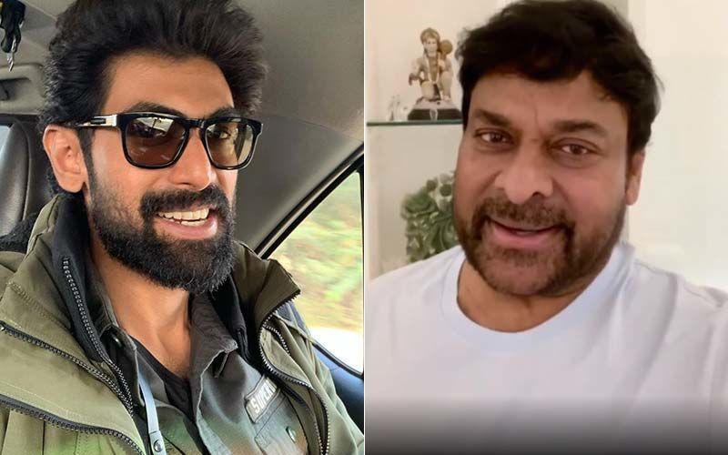 Rana Daggubati Shares Pictures And Thanks Megastar Chiranjeevi For Launching Virata Parvam's Teaser; Says 'It Means A Lot'