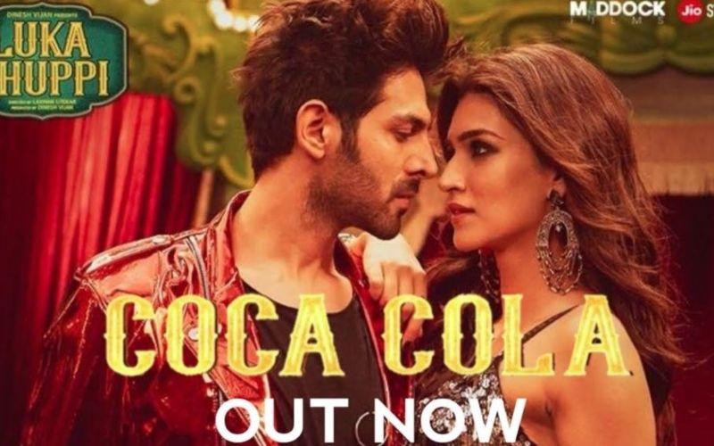 फिल्म लुका छुपी का नया गाना हुआ रिलीज, कार्तिक आर्यन की 'कोका कोला' बनी कृति सेनन