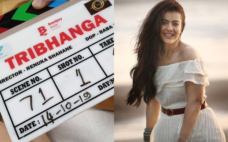 Tribhanga: Kajol Starts Shooting For Her First Netflix Film, Shares Picture  On Instagram