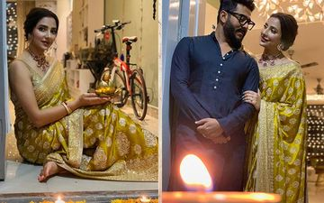 Subhashree Ganguly, Raj Chakraborty Is Looking Dreamy Couple In Their Diwali Pictures, Shares On Instagram