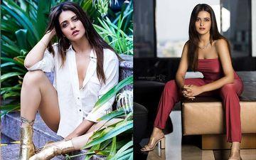 Actress Priyanka Sarkar Starts Pandal Hopping, Shares Pics On Twitter