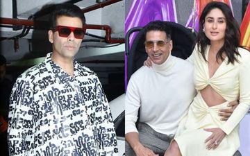 "Good Newwz Trailer Launch: Karan Johar Reveals, ""I Went To Akshay Kumar For Some Other Big Film, He Told Me 'Usko Side Mein Rakhte Hai, Yeh Banaate Hai'"""