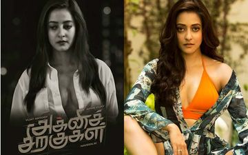 Raima Sen To Make Tamil Debut With 'Agni Siragugal', Shares Her Character Poster  As 'Smitha'