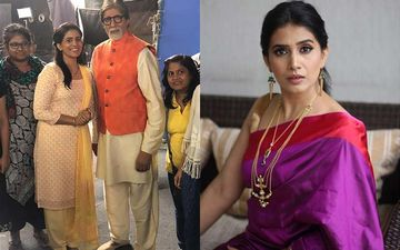 Sonali Kulkarni Is Overwhelmed Working With Amitabh Bachchan In An Advertisement Promoting E-learning App