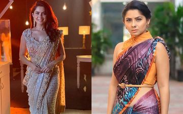 Sonalee Kulkarni's Bold Saree Look Is Raising The Temperatures In The Mix-n-Match Look