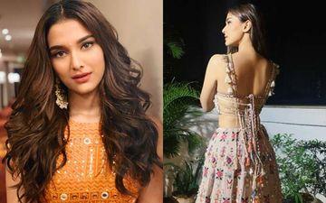 Hotness Alert! Dabangg 3 Star Saiee Manjrekar's Revealing Backless Lehenga Choli Looks Sizzling Hot