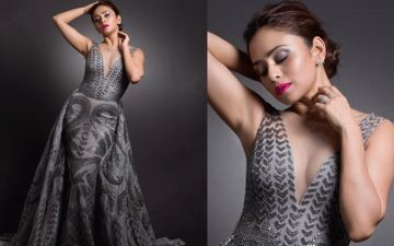 Amruta Khanvilkar Flaunts Her Gorgeously Stunning Body In Filmfare Glamour And Style Awards Shoot