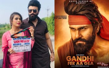 Arya Babbar To Make Comeback From Gandhi Fer Aa Gea, Shares Posters On Instagram