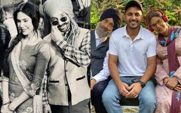 Diljit Dosanjh And Sonam Bajwa Dons Elderly Couple Look For A song, Shares Look On Instagram