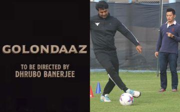 Golondaaz: Dev Adhikari Takes Training From Former Football Player Bhaichung Bhutia, Shares Pics On Instagram