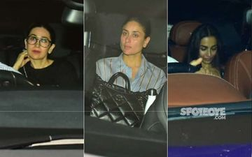 Kareena Kapoor Khan, Karisma, Arjun Kapoor, Malaika Arora Make Their Way To Karan Johar's Party