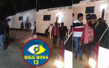 Bigg Boss 13 LEAKED VIDEO: Wild Card Entry Khesari Lal Yadav Blindfolded Before Entering The House