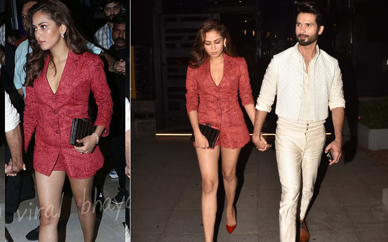 "Mira Rajput Attends LFW In A Blazer And Shorts With Shahid Kapoor In Tow; ""Kabir Singh Apni Real Bandi Ke Saath,"" Says Internet"