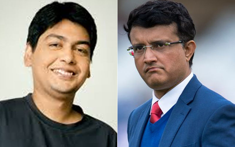 Music Director Savvy Gupta's Fan Boy Moment With 'One And Only Sourav Ganguly'