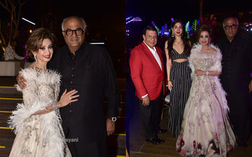 Khushi Kapoor And Boney Kapoor Attend A Wedding In Bali; Their Visit Has A Sridevi Connection - Pics Inside