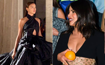 Priyanka Chopra And Bradley Cooper's Estranged Wife Irina Shayk Are The Star Attractions At New York Fashion Week Day 1