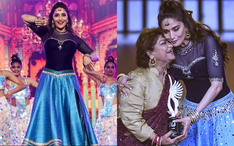 Saroj Khan Death: When The Ace Choreographer Shared An Emotional Moment With Madhuri Dixit At IIFA 2019