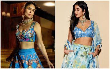 Kareena Kapoor Khan's Blue Bridal Avatar Is So Alike Katrina Kaif's Look From Akash Ambani-Shloka Mehta's Wedding