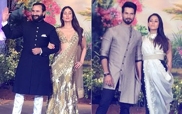 Sonam Kapoor Reception: Saif-Kareena & Shahid-Mira Join The Party