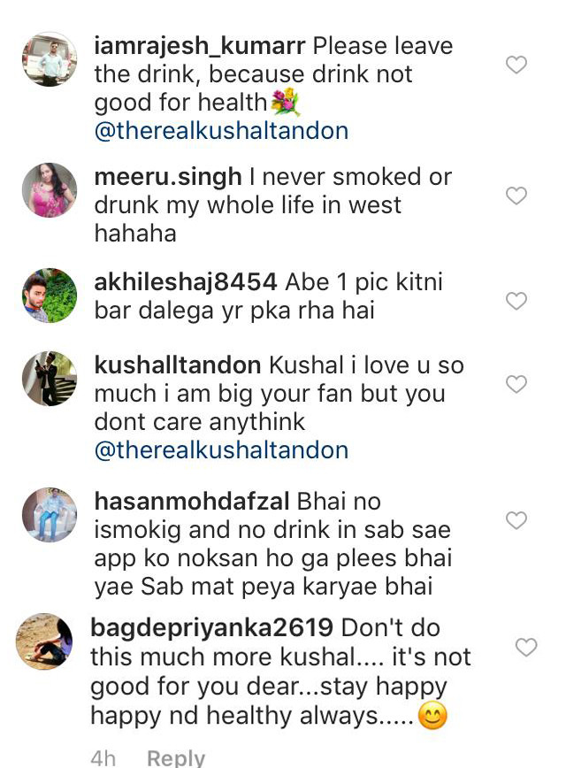 Comments On Khushals Instagram Post