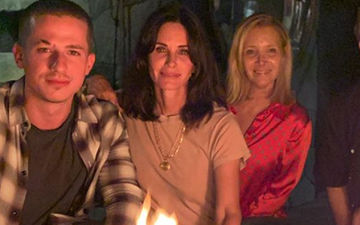 FRIENDS 25: Monica Courteney Cox And Phoebe Lisa Kudrow Have A Reunion, Joined By Singer Charlie Puth