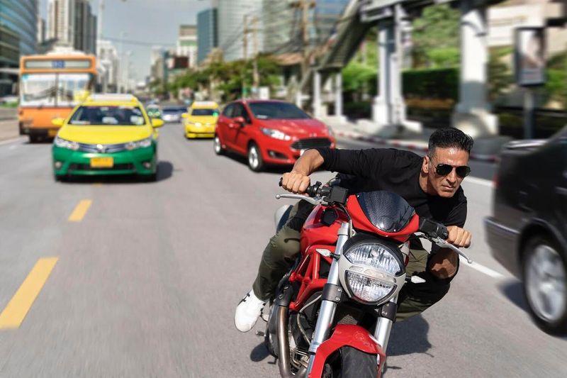 Sooryavanshi: Akshay Kumar Vrooms Through The Streets Of Bangkok In This New Pic