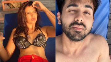 Bigg Boss 13's Dalljiet Kaur Flaunts Her Bikini Bod, Rumoured BF Randeep Goes Shirtless On Their Maldives Vacay