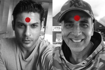 Laxmii: Bigg Boss 13 Winner Sidharth Shukla Sports Red Bindi And Participates In Akshay Kumar's Campaign; Says It's Time To Support The Third Gender