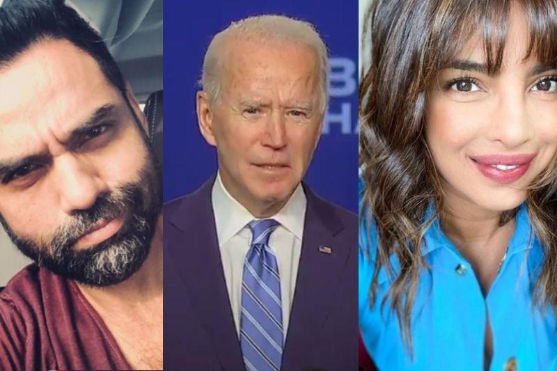 Joe Biden Defeats Donald Trump To Become US President: Priyanka Chopra, Abhay Deol, Pooja Bhatt, Nimrat Kaur And Others Are Happy With His Victory
