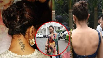 Deepika Padukone Gets Rid Of Her Ex-BF Ranbir Kapoor's RK Tattoo; Backless Pictures Of The Actress Are Proof