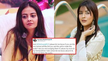 Devoleena Bhattacharjee Gets FILTHY Audio Threats From Shehnaaz's Fans; Lady Questions Sana On If She Encouraged Them
