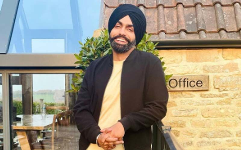 Ammy Virk Churns Out Swag On Mankrit Aulakh's Song '8 Raflaan'; Shares A Reel Video On Insta