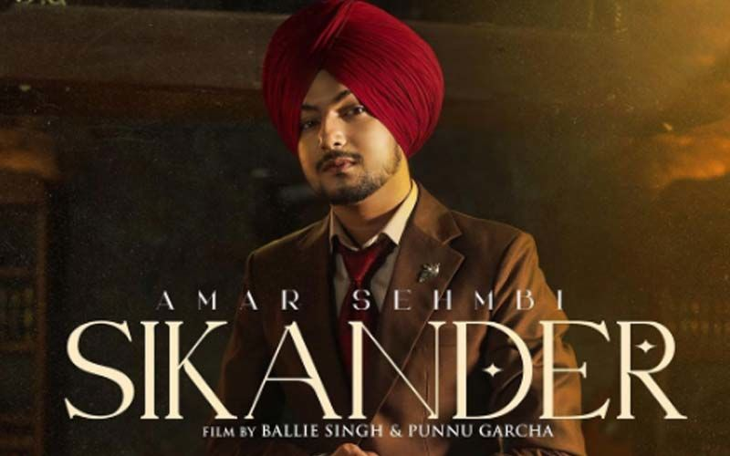 Amar Sehmbi's New Track 'Sikander' Is All Set To Hit The Music Chart; Singer Unveils New Poster