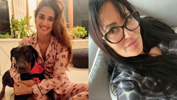 Disha Patani Bonds With Boyfriend Tiger Shroff's Mom Ayesha Shroff Over Her Pet Dog Goku; It's Raining Hearts