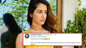 Disha Patani's Post Against Racism BACKFIRES; Netizens Dig Out Actress' Fairness Cream Commercial, Call It 'Hypocrisy At Its Peak'