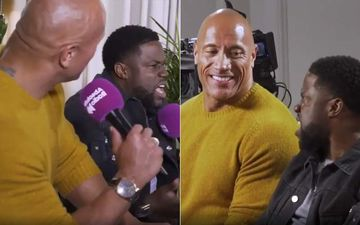 Kevin Hart's British Accent Is Making Us LOL, Dwayne Johnson Says 'Had To Listen To This Sh*t The Entire Time'