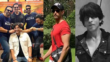Most-Liked INSTA Pics Of The Day: Rohit Shetty Cop Universe's Reunion, Ranveer's Style Tip To Hrithik, SRK-KJo's TB Dancing PIC And MORE