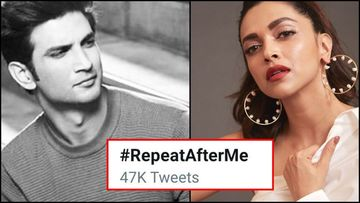 Deepika Padukone Trolled For Her Posts On Depression After Sushant Singh Rajput's Demise; Netizens Trend #RepeatAfterMe On Twitter