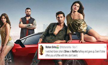 Drive Social Media REVIEW: Fans Toss Jacqueline Fernandez-Sushant Singh Rajput Starrer, 'Zinda Rehne Ke Liye Bacha Kya Hai?'